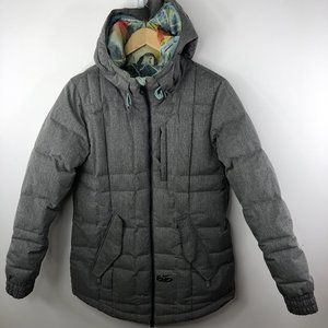 Nike 6.0 Vashi Down Jacket Womens Small Hooded